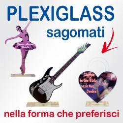 Plexiglass sagomati