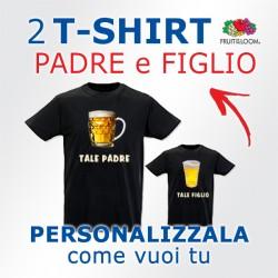 Coppia t-shirt Padre Figlio